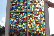 stained glass/mosaic / by Geri
