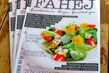 Fahéj magazin - Cinnamon magazine / Receptjeim a Fahéj magazinban My recipes in the Cinnamon Magazine