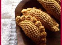 crochet meat pies