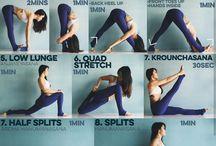 Stretching/splits