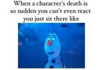 Crying over fictional characters deaths...