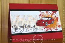 Handmade Cards- SU- Need for Speed