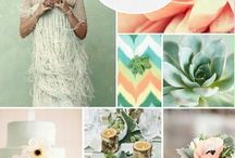 Inspiration: Colors That Move Us / Color stories of weddings that inspire us to create...