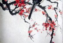 Японская роспись