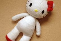 Knitted toys / knitted cute toys to make