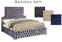 luxuriousness with the Sedona Velvet Bed