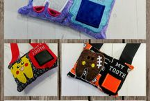 Hanging Tooth Fairy Pocket Pillows