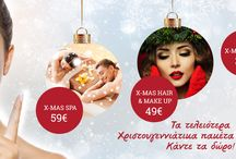 Xmas in MF Day Spa / Christmas gifts for your loved ones by MF Day Spa