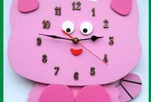 Zegary Ścienne dla Dzieci / Zegary Ścienne dla Dzieci