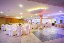 Restauracja Werona / Przepiękna sala o wystroju nawiązującym do słonecznej Italii. Doskonałe miejsce do zorganizowania wesela i innych uroczystości rodzinnych oraz firmowych.