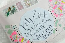 Scrapbook, Letters and Calligraphy