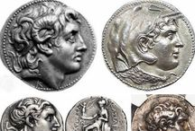 Coins + Papers, Ancient & New--S