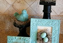 Spring Decorating Ideas / Spring is in the air and on this board I'm pinning spring decorating ideas for the home, for the porch and for outside.