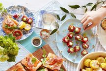 Appetizers and Dinner Party Food