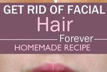 Rid of Facial Hair