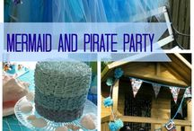 Mermaid and Pirate Party / by Gina Morgan