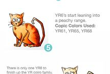 Copic Coloring: Tutorials & Resources / Great resources and tutorials on coloring with Copic markers.