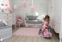 Romby w pokoju dziecka / Pokój dziecka udekorowany rombami