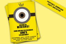 Indie's Minion party