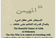 Names of Allah subhanahu wa ta'ala