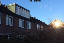 Dakkapel Hilversum II / Montage dakkapel voor 3.000 x 1.500 mm. en achter 5.000 x 1.750 mm.  in Hilversum