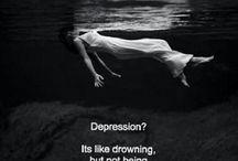 Depression. Hopeless. Hurt.