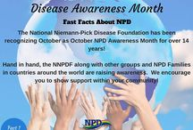 2015 October Awareness Facts / Facts about Niemann-Pick Disease