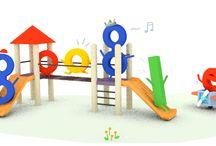 Typografi - Google doodle
