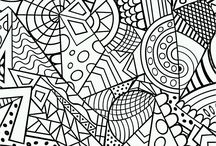 anti-stress coloring pages for adults