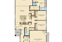 Lennar Floorplans: Single Story