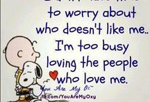 snoopy 's  words