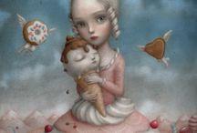 dolci inquietudini di Nicoletta Ceccoli
