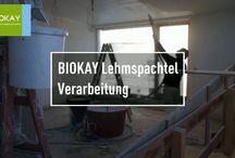 Lehmputz Verarbeitung / So wird´s gemacht - Verarbeiter zeigen wie man Lehmputz verarbeitet