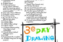 Drawing Challenges... BRING IT! / by Benjamin Farnes