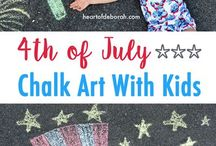 Celebrate 4th of July With Kids Inspiration / Celebrate 4th of july with your kids. Here you'll find inspiration and ideas, crafts, recipes, printables, party ideas and more.