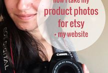 Etsy Shop Advice and Craft Photography Tips / Since so many of my followers have questions about etsy shop tips and how to get more sales on Etsy, I've gathered some of the best tutorials on how to photograph your crochet, DIY photo backdrops, Etsy Shop Growth Tips, and more.