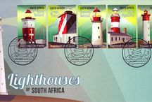 South African Lighthouses / Stamps with Lighthouses from South Africa