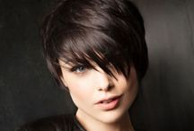 Chop chop! / Short brunette cropped hairstyles / by michelle bower