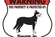 Beauceron Signs and Pictures / Warning and Caution Beauceron Signs. https://www.signswithanattitude.com/beauceron-signs.html