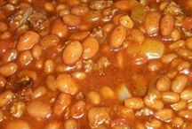Mexican cooking and beans