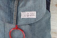 Jeans-upcycling / Aus Jeans neues nähen