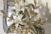 arreglo blanco florero