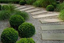 R & I Fisher / Mood board for garden design concept