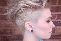 Short Hairstyles / Undercut Pixie