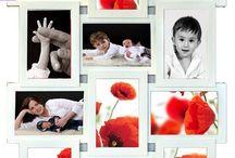Multirámiky - produkty, ktoré nájdete na www.nafotky.sk / veľké aj menšie, .... na stenu aj na poličku.... farebné aj decentné...pre všetky vaše fotky....