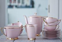Piezas de cerámica y Juegos de té / Piezas de cerámica y de loza que me atraen por diversas razones.