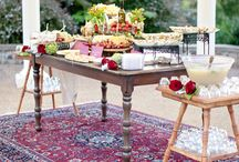 Bohemian Weddings with Persian Rugs / Is the thought of a formulaic white wedding enough to send you galloping off into the distance like Runaway Bride? Appease your inner gyspy by throwing a bohemian bash instead. According to wedding planner Sophia Vinten, one of the best ways to add a touch of boho whimsy to your nuptials is with Persian Rugs. They're beautiful and unique, easy to assemble and dismantle, and – best of all – you can actually re-use them after your big day.