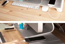 Desk Space Saving
