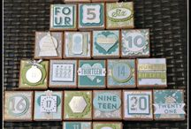 Stampin Up! Tiny Treat Boxes and 25 Days stamp set