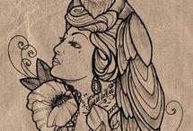 Tattoo - headdress